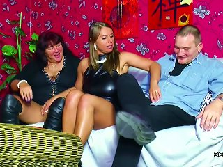 Old German Couple Seduce Big Tit Teen To Fuck In Threesome Teen Video