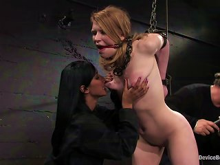 Madison Young Gets Tortured To  In Bdsm Scene Teen Video