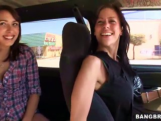 Hot Brunette Teen Gets Fucked Inside A Moving Van For A Reality Porn Video Teen Video
