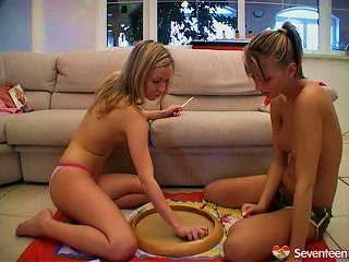 Am Sure You Want To See How These Kinky Lesbians Play With Their Moist Muffs Teen Video