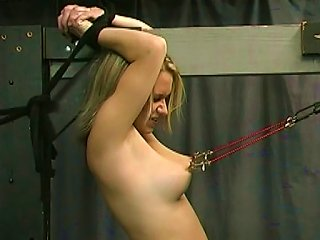 Young Blonde Getting Punished  Bdsm Teen Video
