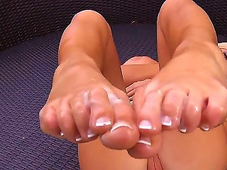 Everybody Likes S, Especially Made By Tasha Reign. This Cute  Sure Knows How To Use Her Feet To Make A Man Pleased. Do You Really Want To See Her In A Teen Video