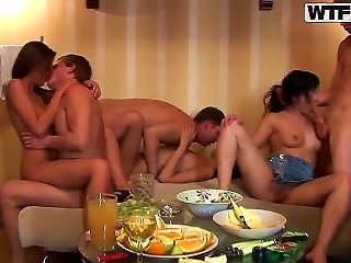 Amazing College Group Scene With Lots Of The Prepossessing Teen Pornstars Afrodite, Dasi West, Faye, Mimi, Varvara, Wiss And Zena. These Youngsters Fu Teen Video