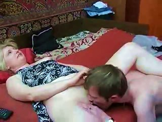 Teen Guy Foreplay With A Sexy MILF Teen Video