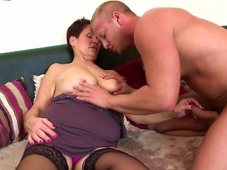 Old Mothers Go Hard With Young Boys Teen Video