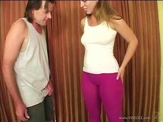 Shapely Blonde With Natural Tits Showcasing Her Hot Ass Teen Video