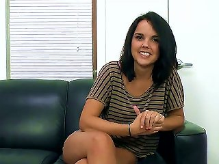 Incredibly Cute Young Slut Dillion Harper Is On Her First Ever Porn Audition And Although She Is A Bit Nervous Quickly She Is Rolling And Starting To  Teen Video