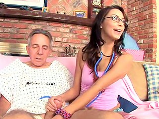 Sexy Teen Danni Cole Gets Dick Of An Old Fart Teen Video